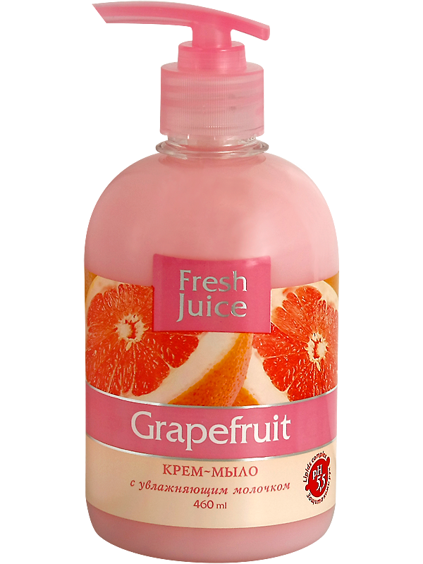 Крем-мыло Fresh Juice Grapefruit, 460 мл (e.11446)