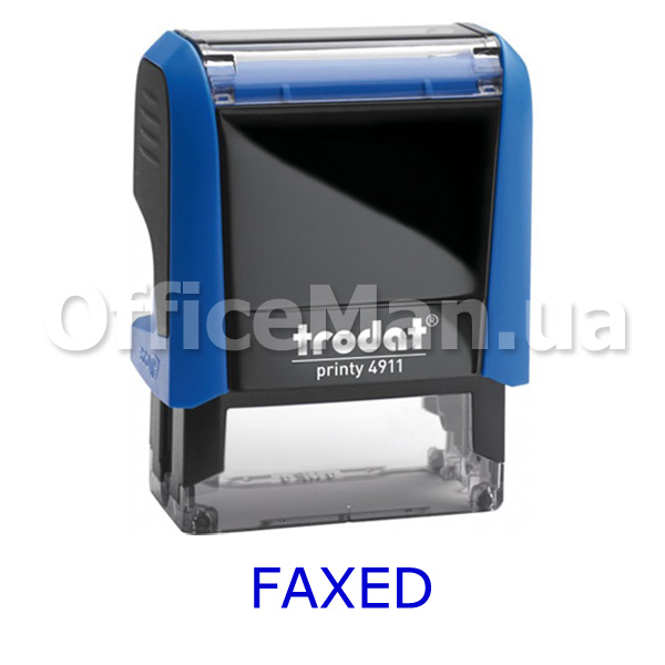 Штамп Trodat FAXED (4911-3.04)