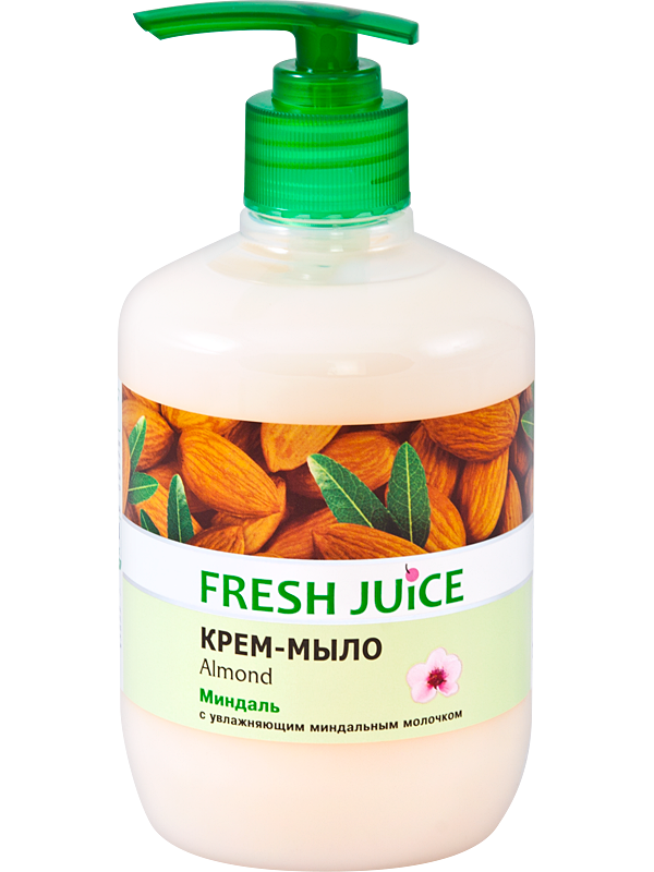 Крем-мыло Fresh Juice Almond, 460 мл (e.11460)
