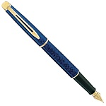Ручка перьевая Waterman Hemisphere Marblad Blue FP F 12 051