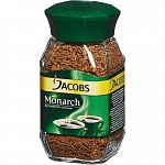 Кофе растворимый Jacobs Monarch, 100 г, стекло