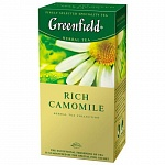 Чай травяной Greenfield Rich Camomile 1,5гх25шт., в пакетиках (106016)