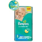 Подгузники Pampers Active Baby-Dry Размер 5 (Junior) 11-18 кг, 58 шт (4015400264811)