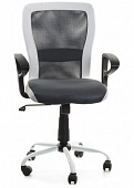 Кресло Office4You Leno Black/White (27785)