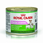Влажный корм для собак Royal Canin Starter Mousse 0,195 кг