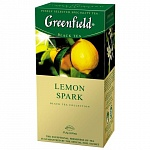 Чай черный Greenfield Lemon Spark 1,5гх25шт., в пакетиках (106005)