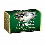 Чай черный Greenfield Earl Grey Fantasy 2гх25шт., в пакетиках (106111)