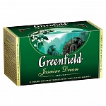 Чай зеленый Greenfield Jasmine Dream, 25 пакетиков х 2г