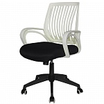 Кресло Barsky Office plus OFW 01 White/Black OFW 01
