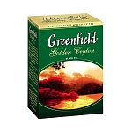 Чай черный Greenfield Golden Ceylon, 100г, листовой (106275)