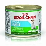 Влажный корм для собак Royal Canin Adult Light 0,195 кг